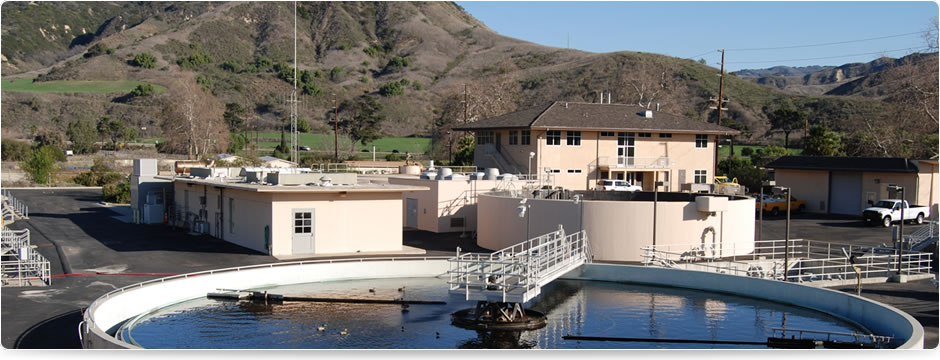 Ojai Valley Sanitary District treatment plant
